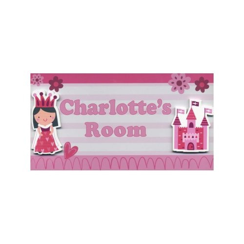 Charlotte My Room Sign