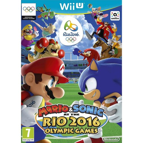 Mario and Sonic at the Rio 2016 Olympic Games Nintendo Wii U Game