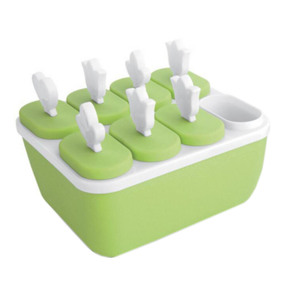 Reusable DIY Frozen Ice Cream Pop Molds Ice Lolly Makers-010