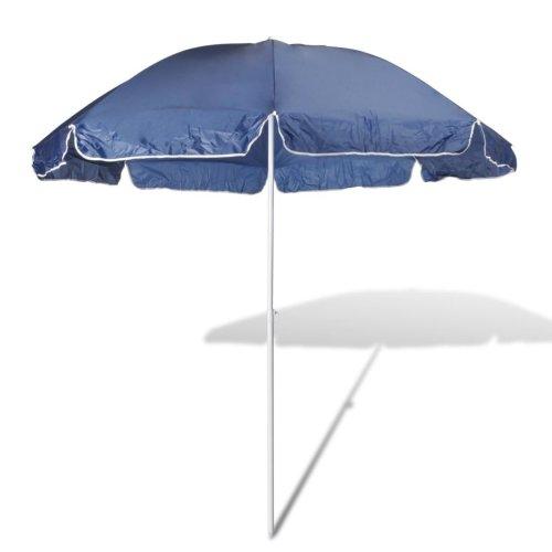 240cm Beach Umbrella Colour Blue