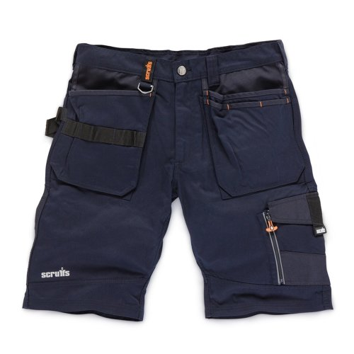 Scruffs Trade Work Shorts Ink Blue