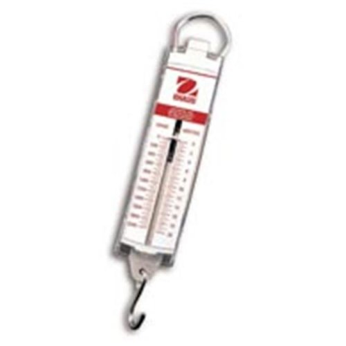 Ohaus 8008-MN Pull Spring Scale,5000 g