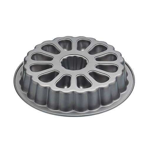 """KitchenCraft Sweetly Does It """"Surprise Ingredient"""" Fillable Ring Cake Tin / Piñata Cake Pan, 28 cm (11"""") - Round"""