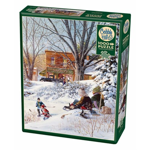 CBL80207 - Cobblehill Puzzles 1000 pc - Getting Ready