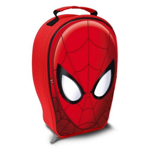 Spider Man Kids Head Shaped Lenticular Lunch Bag