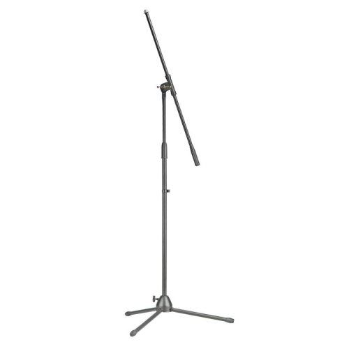 Stagg MIS-0822BK Microphone Boom Stand, Black