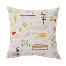 "17.7""x17.7"" Comfortable Throw Pillow Sofa Cushion Soft Pillow Home Office, B"