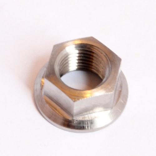 M14 x 1.5mm TITANIUM flange nut