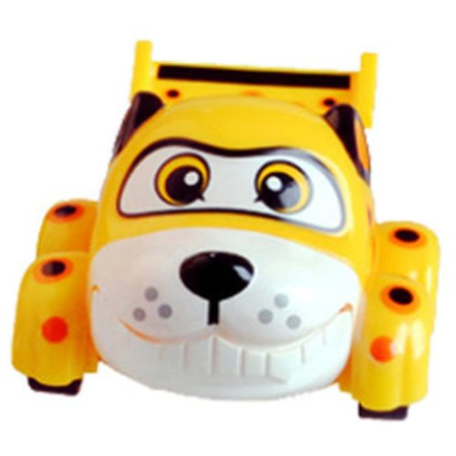 Inertia Lovely Animal Toy Car Yellow Puppy Toy Vehicle Kids Toys