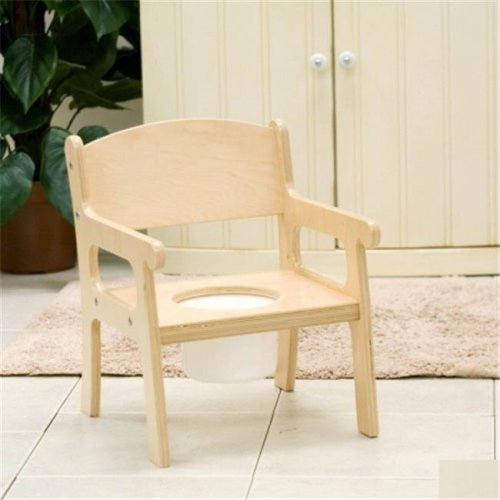 Little Colorado 027LIN Handcrafted Potty Chair in Linen