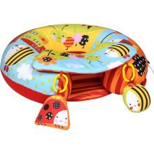 Red Kite Sit Me Up Garden Gang -  up me sit garden gang ring play red kite inflatable baby tray playnest activity