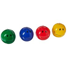 Inflatable Smiley Face Beach Balls (1 dz) Party Favors by OTC