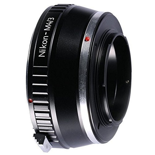 Adapter To Convert Nikon F Mount Lens to MFT Lens For Mirrorless Micro Four Thirds M43 Digital Camera