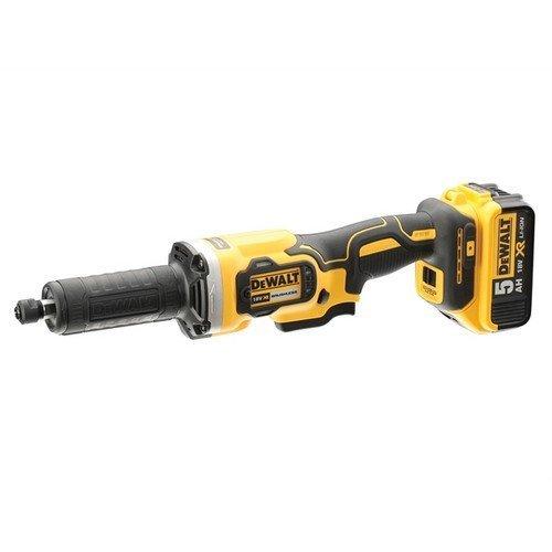DEWALT DCG426P2-GB DCG426P2 DCG426 XR Brushless Die Grinder 18V 2 x 5.0Ah Li-ion