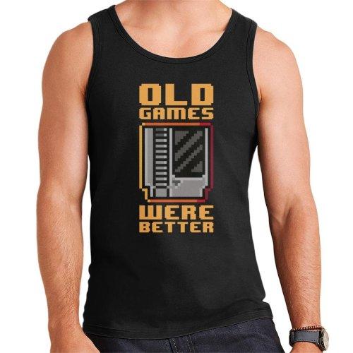 Old Games Were Better Men's Vest