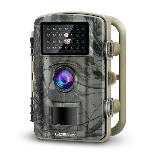 Gosira 12MP 1080P Trail Wildlife Camera Trap Infrared Night Vision - Camouflage