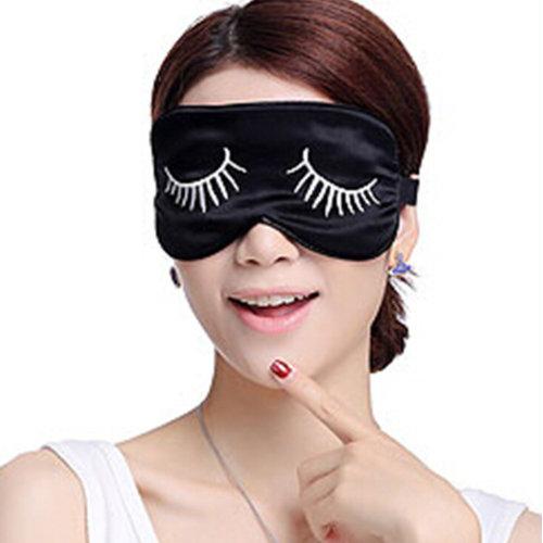 Sleeping Eye Mask Silk Sleep Mask Eye-shade Breathe Freely Aid-sleeping Eyelash