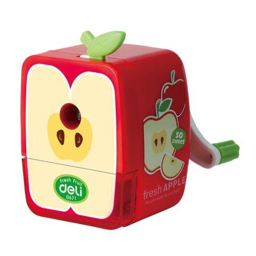 Red Apple Office Use Pencil Sharpener Set of 1