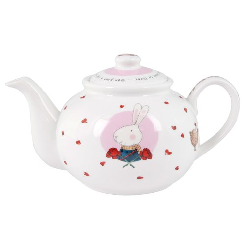 Ruby Red Shoes London Small Teapot