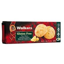 Walkers  Gluten Free Ginger & Lemon Shortbread 140g