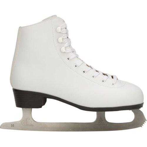 Nijdam Women's Figure Skates Classic Size 34 Ice Skating Boots 0034-UNI-34