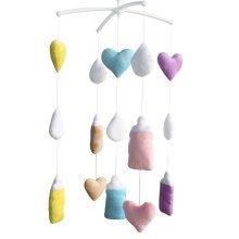 Decor Crib Mobile [Plush Hanging Toys] Musical Mobile, Baby Toys