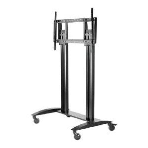 Peerless SR598 Flat panel Multimedia cart Black multimedia cart/stand