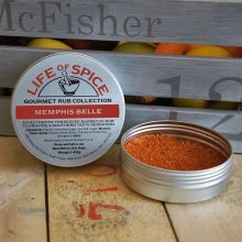 Memphis Belle - Life of Spice Gourmet BBQ Rub (40g) - Paprika, Mustard, Garlic and Chipotle