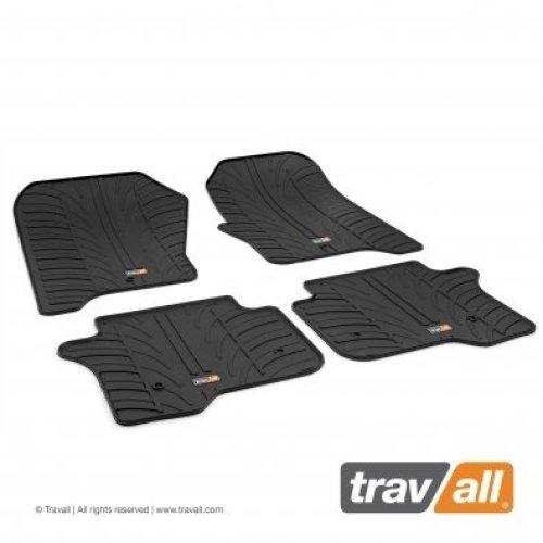 Travall Rubber Car Floor Mats [rhd] - Lr Range Rover +sport (2013-) (4p+f)