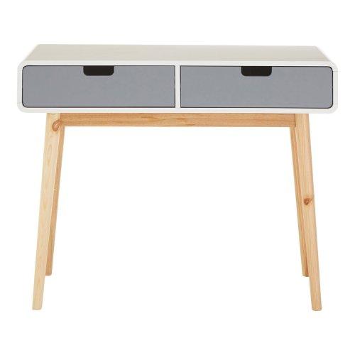 Milo Console Table - Grey/White
