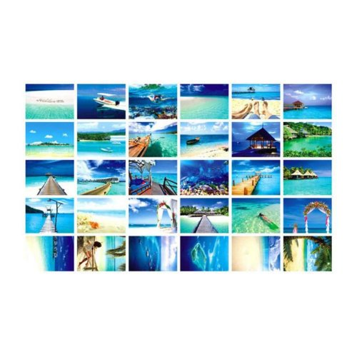 Postcard Hand Set Collection Set Painting Greeting Card  #4