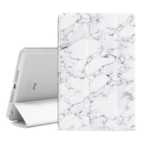 Ayotu Case for iPad Mini 1 / 2 / 3,Slim Lightweight Auto Wake/Sleep Smart Stand Protective Cover Case with Translucent Frosted Back Magnetic Cover...