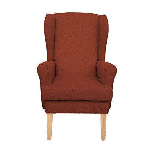 MAWCARE Highland Orthopaedic High Seat Chair - 21 x 21 Inches [Height x Width] in High Teracotta (lc21-Highland_h)
