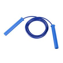 Jump Rope for Exercise,Professional fitness Speed Rope PU Rope 2.8M Blue