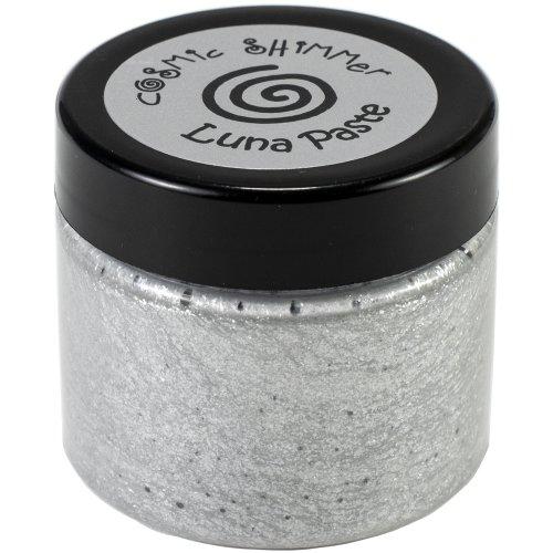 Cosmic Shimmer Luna Paste-Moonlight Silver