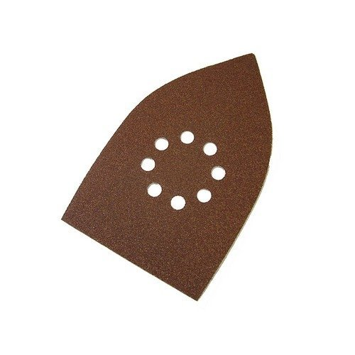Faithfull FAIAOMULTIA Multi Sander Sheets Hook & Loop Red Assorted (Pack of 5)