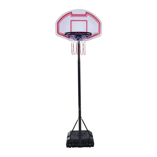 Homcom Adjustable Basketball Hoop | Basketball Stand On Wheels