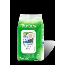 Tropiclean Ear Cleaning Wipes 50pc