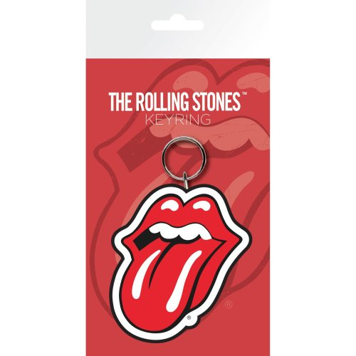 The Rolling Stones Lips Keyring