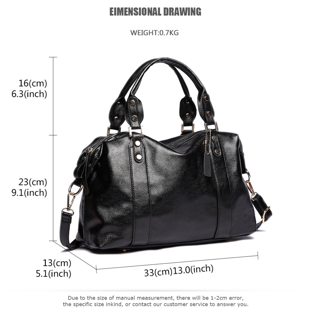 ... Miss Lulu Women Designer Handbag PU Leather Hobo Female Shoulder Bags  Girls Cross Body Messenger Satchel ... c7cec505d44d9