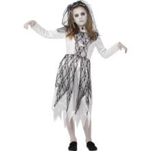 Smiffy's Children's Ghostly Bride Costume (large) -  costume bride fancy dress girls ghostly halloween corpse child outfit kids childs 412