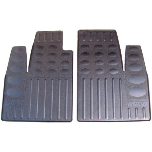 Fiat Doblo Genuine New Tailored Fitted Front Rubber Floor Mats 50900527