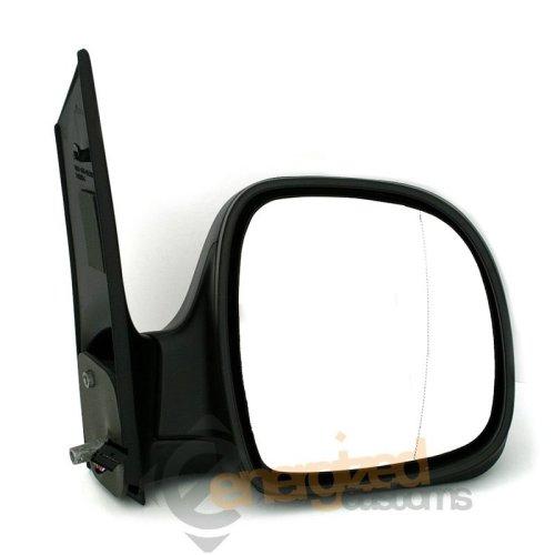 Mercedes Vito Van W639 2003-2011 Manual Black Wing Door Mirror Drivers Side