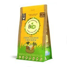 Beco Food - Free Range Chicken With Carrot And Chicory - 2kg - Natural Grain - -  beco food dog free 2kg chicken conscious range dry complete