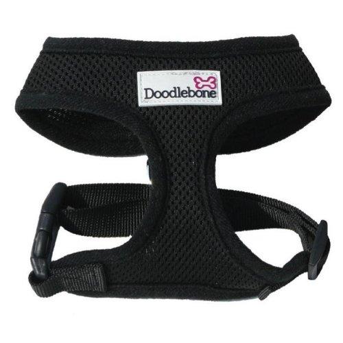 Doodlebone Harness Black Medium 36-48cm