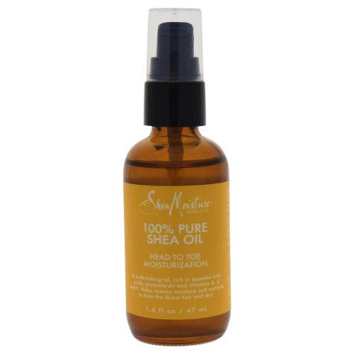 100% Pure Shea Oil Head To Toe Moisturization by Shea Moisture for Unisex - 1.6 oz Oil