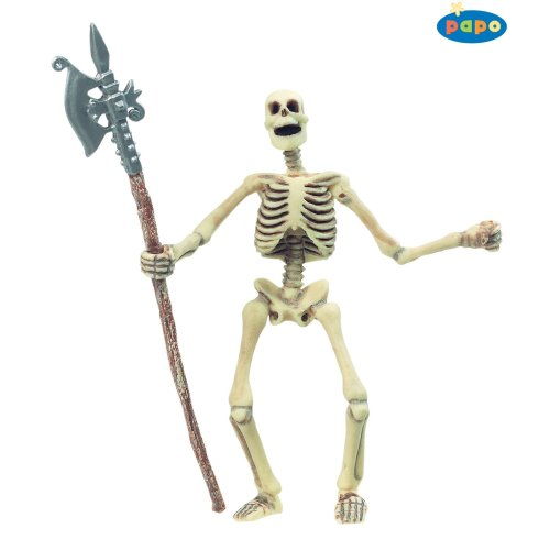 Papo Glow In The Dark Skeleton - Figure New Fantasy Brand Toy 38908 Action -  skeleton papo figure dark new fantasy glow brand toy 38908 action