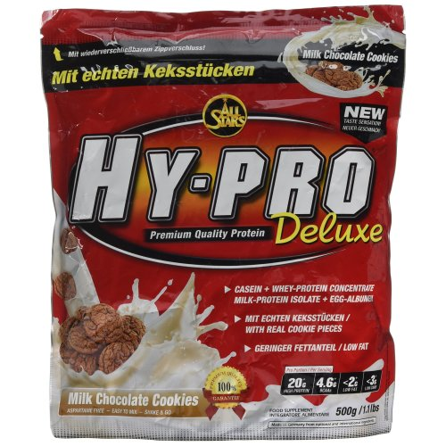 All Stars HY-PRO 500 g Milk Chocolate Cookies Deluxe Protein - Pack of 1