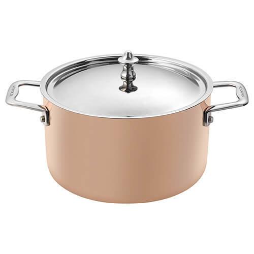 Scanpan Maitre D' Copper 20cm 3.5L Dutch Oven/Casserole