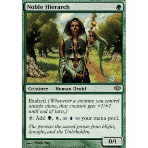 Magic the Gathering Noble Hierarch Conflux